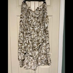 J. Jill Flower Ruffle Skirt plus size 2X